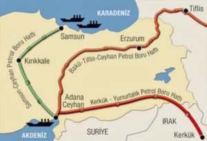 postavka nefti Курдская автономия Ирака начала поставка нефти в Турцию.