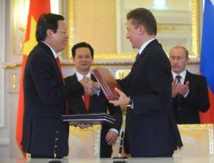 gazprom marketing and trading Газпром подписал соглашение на поставку СПГ во Вьетнам.